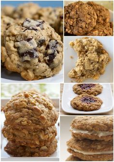 Bake or Break's Favorite Oatmeal Cookies
