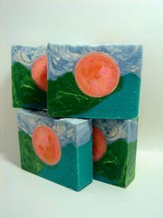 Sunrise Handmade Artisan Soap by CDASoapWorks on Etsy, $5.50