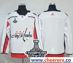 adidas washington capitals blank white road authentic stanley cup final champions stitched nhl jersey