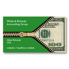 amazing business cards design for accountant - Google Search