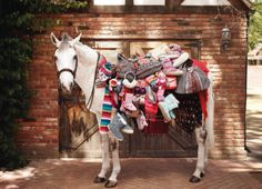 christmas horse gift wrap - Google Search