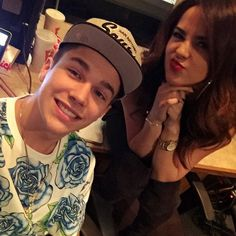 Austin Mahone & Becky G In The Recording Studio! + Camila Cabello Thanks Her Ex Austin For Support - http://oceanup.com/2015/02/08/austin-mahone-becky-g-in-the-recording-studio-camila-cabello-thanks-her-ex-austin-for-support/
