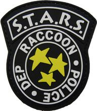 Raccoon City Police Resident Evil STARS Patch http://www.tacticalmoralegearstore.com/morale-patches/s-t-a-r-s-resident-evil-raccoon-city-police-pvc-morale-patch/