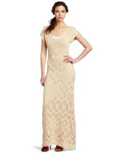 <3 Love this! Flawless Nude Crochet Dress ~ <3  ~ Disclaimer: This is an amazon.com affiliated link.