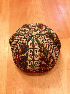 old hat turkmenistan vintage tribal hat turkmen by akcaturkmen, $120.00