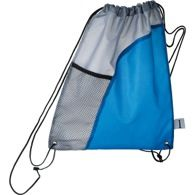 Port Lincoln sports bag Two tone drawstring bag with side mesh pocket Find us on facebook at https://www.facebook.com/JNLondon