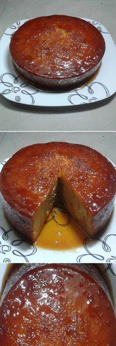 Hoy te presentamos con la más bonita Torta de Pan que jamás hayas visto en tu vida, Fácil de hacer… CASERO PERFECTO sin defectos !! #receta #recipe #casero #torta #tartas #pastel #nestlecocina #bizcocho #bizcochuelo #tasty #cocina #chocolate #pan #panes Preparar el caramelo con el azúcar y el agua en el mo... Mexican Food Recipes, Sweet Recipes, Cake Recipes, Dessert Recipes, Bread Recipes, Pan Dulce, Köstliche Desserts, Delicious Desserts, Yummy Food