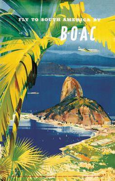 BOAC to South America