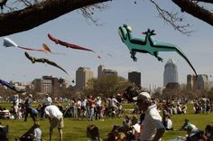 kite festival at zilker park