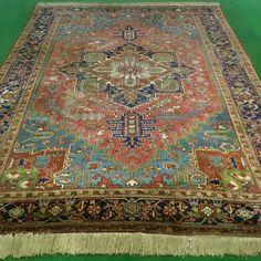 Antiker Heriz 19 Jhdt. Bohemian Rug, Rugs, Home Decor, Persian Carpet, Farmhouse Rugs, Decoration Home, Room Decor, Home Interior Design, Rug