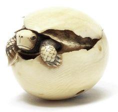 turtle netsuke