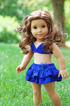 American Girl Fan is having a Doll Swimsuit Giveaway! Visit their site for more information!