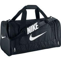 3835cfa3235a05 NIKE Brasilia 6 Duffel Bag Head off to the gym or team practice with the NIKE  Brasilia 6 medium duffel bag. Its roomy main compartment has a wide