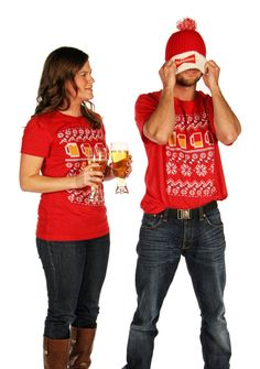 Ugly Holiday Sweater Tees. The awesome! sweatertee.com $20