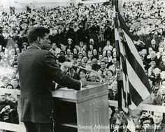President John F. Kennedy was known for his international policies in Berlin and the Cuban Missile Crisis, but just two months before his assassination, he made an 11-state conservation tour. WRNC's Danielle Kaeding has part one of our series on the 50th anniversary of Kennedy's trip that included a stop in northern Wisconsin.