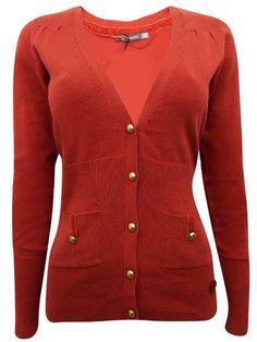 Dark Orange Bobble Button Knitted Cardigan  #christmasdress #fashionista #canadaonline #clothes #Oasislync #flowergirldress #instalikes #shopping #onlinestore #shoppingonline