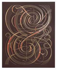 Image of Illuminated Ampersand Spencer Charles This is the most gorgeous thing I have ever seen.