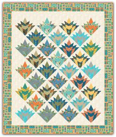 Lady Almina Quilt designed with Dawnton Abbey Egyptian fabrics from Andover Fabrics.  Patriarch Pattern available: www.NeedleinaHayesStack.biz