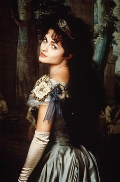 Helena Bonham Carter as Olivia in Twelfth Night (1996).