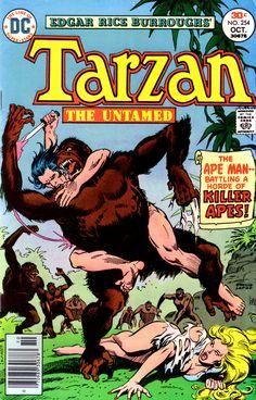 Tarzan 254, October 1978, cover by Jose Luis Garcia-Lopez
