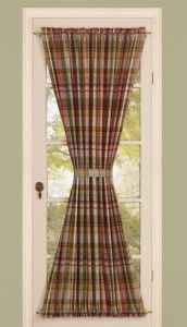 Curtains For French Doors Ideas not a house but a home tutorial diy french door curtain alternative create I Have This Type Of Door Therefore I Need This Type Of Curtain