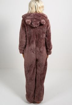 This fluffy onesie, perfect for hibernating.