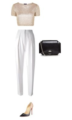 """Untitled #76"" by thabile-zungu on Polyvore featuring Topshop, Joseph, Christian Louboutin and Givenchy"