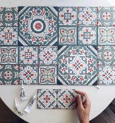 Instagram photo by anastasia_ropalo - Мои плиточки