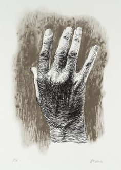 Henry Moore OM, CH 'The Artist's Hand I', 1979 © The Henry Moore Foundation. All Rights Reserved