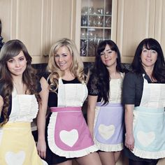 Pastel aprons for spring