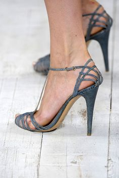 fe75a0df2410 Ralph Lauren Spring 2010 Ready-to-Wear Collection Photos - Vogue Fancy Shoes