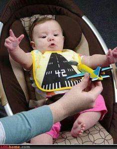 Future Air Traffic Controller Just Like Daddy Design Funny Cute Newborn Baby Bib