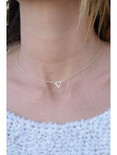 COLLIER TRIANGLE OUVERT ZILIA