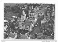 Frankreich - 63 // PLAUZAT l'église et le Château CPSM édit LAPIE