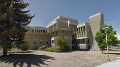 Department of Psychology - Central Washington University - #architecture #googlestreetview #googlemaps #googlestreet #usa #ellensburg #brutalism #modernism
