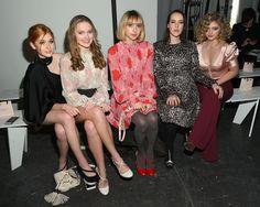 Katherine McNamara, Bridget McGarry, Zoe Kazan, Jena Malone, and Willow Shields