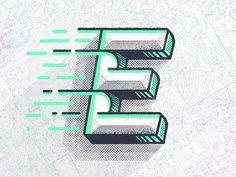 E by @grigoryancreative #dribbble #dribbblers #graphicdesign #illustration #design #logo