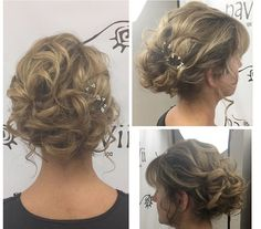 #updo #styled #tousled #loose #weddinghair #bridal