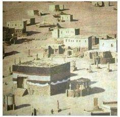Baytullah (Kaabah) @ Masjid al-Haraam @ Makkah al-Mukarramah Islamic Images, Islamic Pictures, Islamic Art, Old Pictures, Islamic Quotes, Islamic Studies, Islamic Messages, Mecca Masjid, Masjid Al Haram