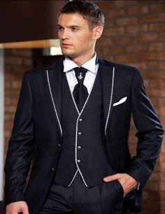 2017 Hot Sale Cus...    http://after5formals.online/products/2017-hot-sale-custom-made-groom-tuxedos-best-man-suit-wedding-groomsman-men-suits-bridegroom-jacket-pants-vest?utm_campaign=social_autopilot&utm_source=pin&utm_medium=pin  We Ship Globally!