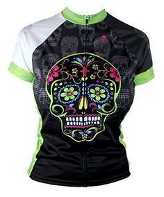 Dia De Los Muertos G Women s Cycling Jersey a25dbbb53