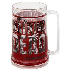 Logo Blood Frosty Beer Mug - Jarra de Cerveza por The Walking Dead