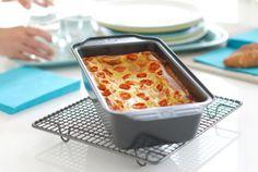 Pastel de puerros con tomates cherry   Velocidad Cuchara