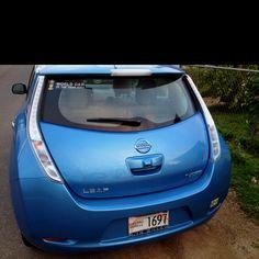 Hawaii Nissan leaf!