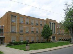 Hicksville High School--Hicksville, Ohio by oldohioschools, via Flickr