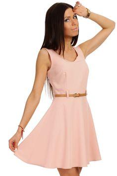 Modna suknienka rozkloszowana kolory MOE roz/S 36 (4875083957) - Allegro.pl - Więcej niż aukcje.