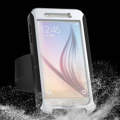 AD Series IPX68 Waterproof Heavy Duty Protection Case With Arm Band For Samsung Galaxy S6