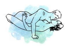 Yep, 63 awesome positions to spice up your sex life. You're welcome.