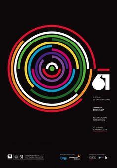 Festival de San Sebastián :: El Festival de San Sebastián ha presentado la imagen de su 61 edición