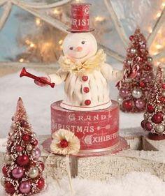 Bethany Lowe Christmas | fantasy winter decor | Pinterest | Christmas